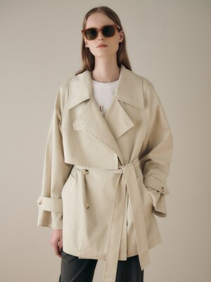 Half Trench Coat SW1SR102-90