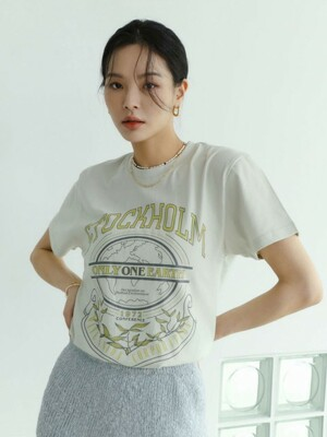 Stockholm short sleeve T-shirts mint cream