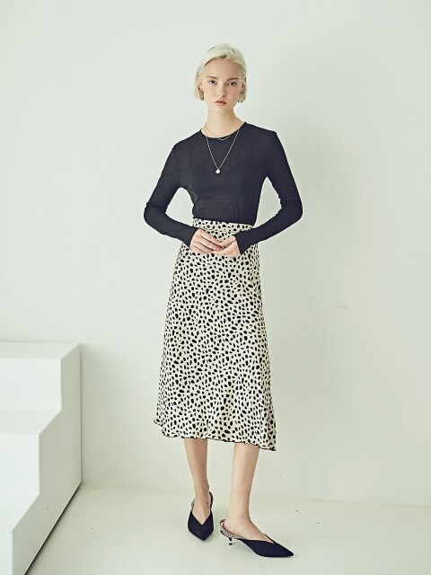 RAINBOW SKIRT - LEOPARD