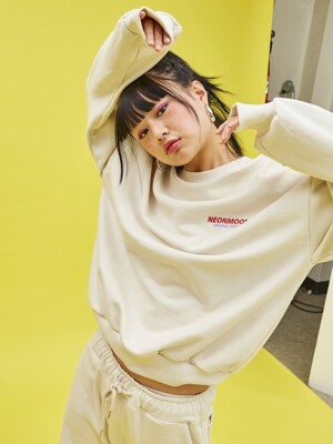 19SP Sweat Shirt IVORY