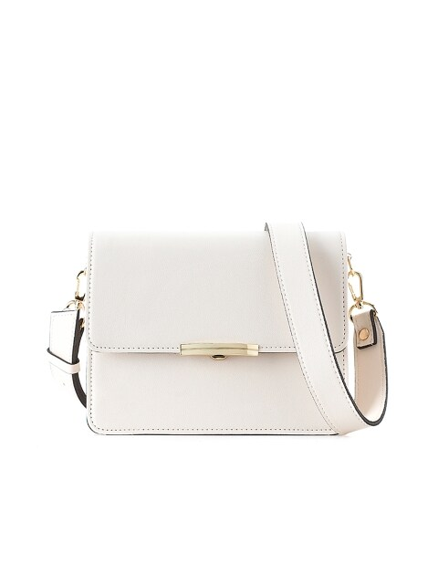 rose mini cross bag (ivory) - D1013IV