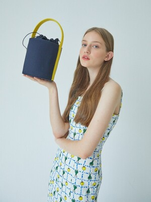 Meloday Bag (Navy + Yelow)