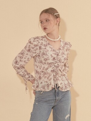 String Blouse_ Ivory