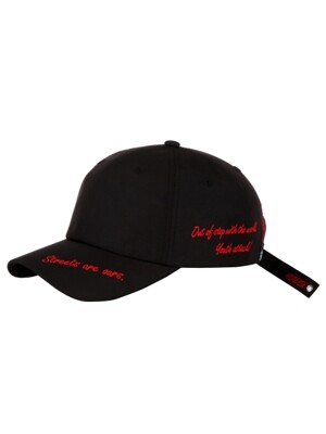 OUT OF STEP BALLCAP - BLACK/RED