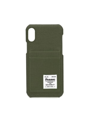 C&S iPHONE XR CARD CASE - KHAKI