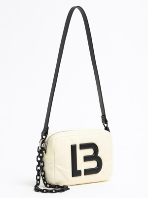 S ivory padded nylon crossbody bag_B215AIB001IV