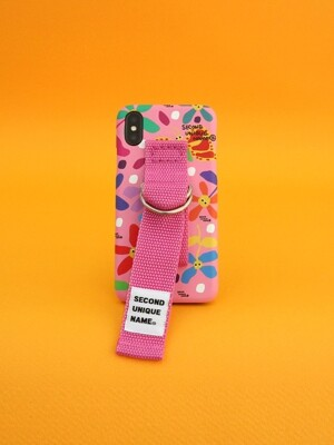 SUN CASE GRAPHIC FLOWER PINK PINK (BELT)