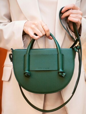 U bag_Deep green
