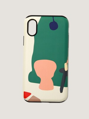 Greenery phone case