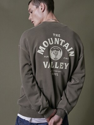 MOUNTAIN VALLEY PIGMENT SWEATSHIRT KHAKI