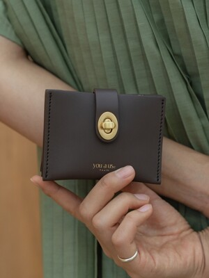 Roto wallet (Choco brown)