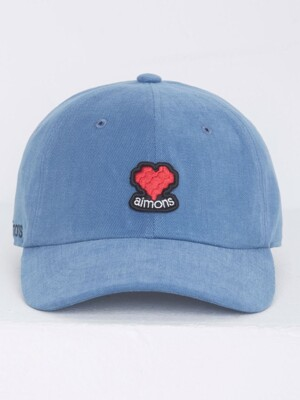 Blue Aimons Heart Ball Cap