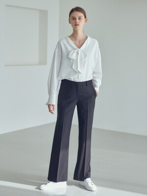 20SN semi-wide pants [BK]