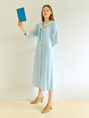 Sailor Linen One-piece in Blue (WS0471MG5Q)