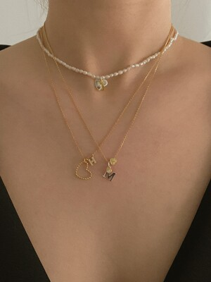 [단독]deep is your piece necklace (Silver 925)