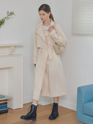 [단독] High Band Collar Trench Coat SW1SR101-03