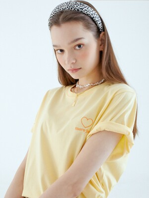 lover T-shirt  yellow