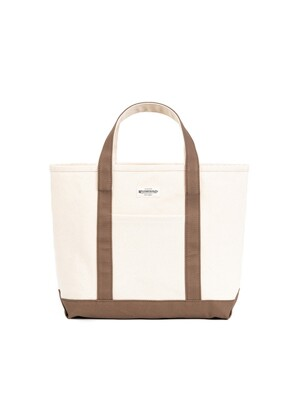 HEAVY CANVAS COAL BAG (beige)
