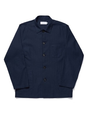 ALBION SHIRTS JACKET NAVY