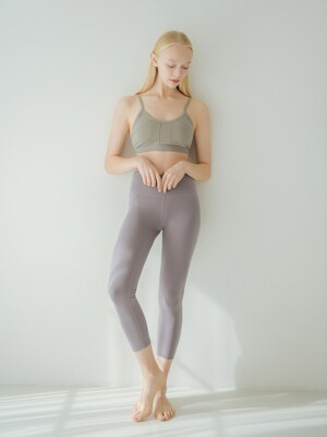 Mia Capri Legging - Grey Ridge (FM002P)