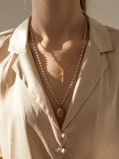 Maria Pearl Necklace