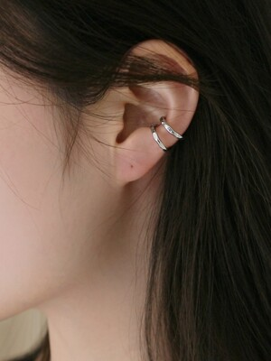 uneven earcuff (2colors)