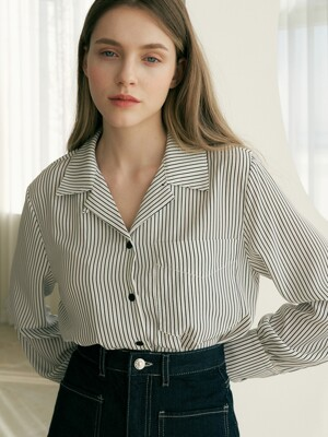 monts920 spring stripe shirt