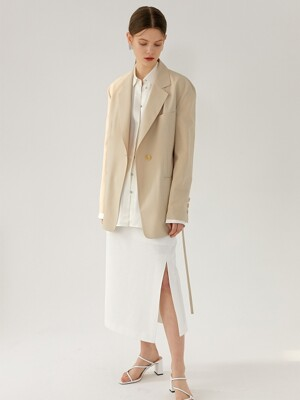 KATE Fluid String Blazer(BEIGE)