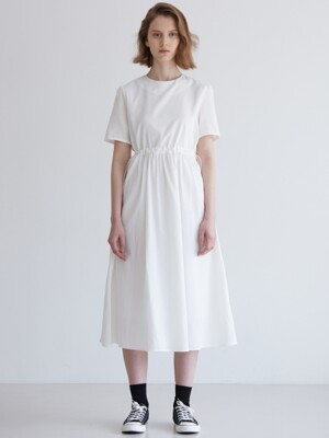 STRING DRESS_WHITE