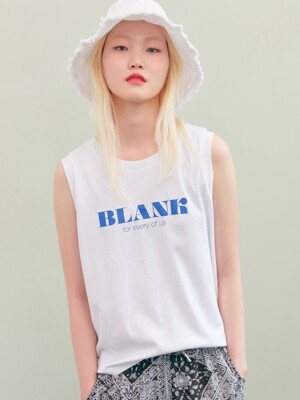 BLANK SLOGAN TOP-WH
