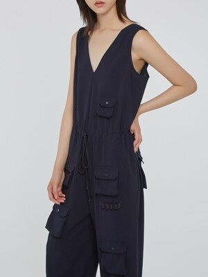 Navy Play Jumpsuit 1
