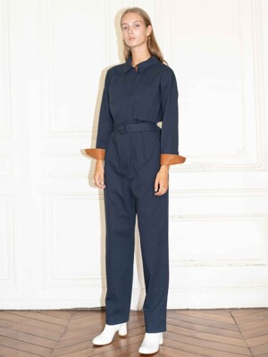 SAINT-HONORE jumpsuit_Navy