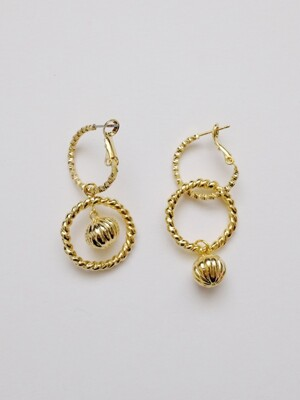 Twinkle Ball 2way Earring
