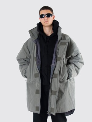 [FW19 SCS] Monster Parka Long(Grey)