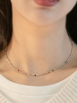 Color Balls Choker