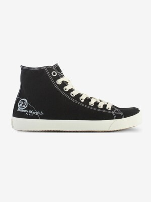 [PRE-ORDER] 20SS TABI COTTON SNEAKER HIGH BLACK S57WS0253 P1875 T8013