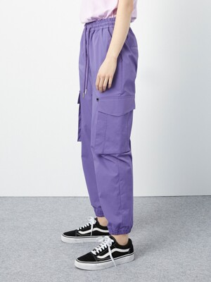 [UNISEX] R CARGO BANDING PANTS [3COLOR]
