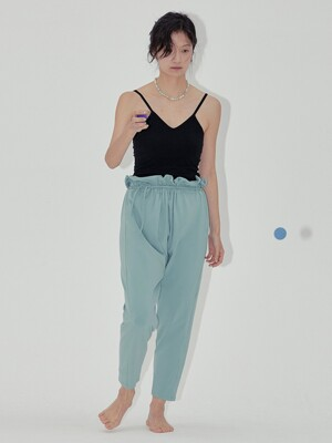 Belted Harem Pants-2colors
