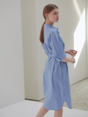 20N summer basic shirts dress [ST]