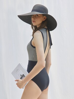 Diana Knit Swimsuit Black