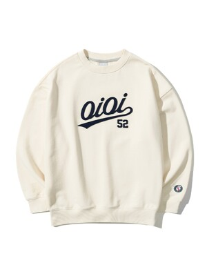 2021 SIGNATURE SWEATSHIRTS [CREAM]