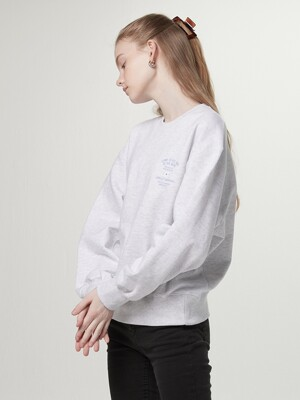 Come as sweatshirt - White melange