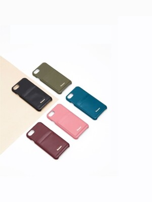 Leather iPhone7+/8+ Card Case