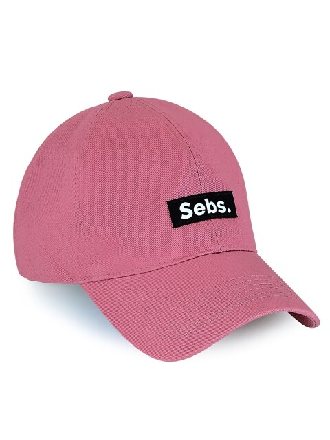 COTTON_PINK BALL CAP