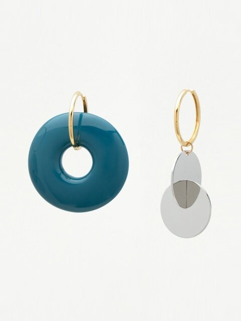 Autumnent Earring (deep blue)