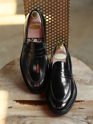 PENNY LOAFER Sleek-Black