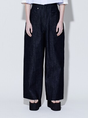 19SS WIDE DENIM PANTS