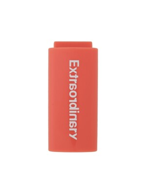 BASIC LOGO LIGHTER CASE ORANGE/WHITE