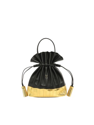 Lucky Pleats Crossbag Eve Edition Rich Black
