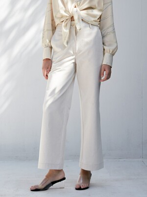 comos'345 linen straight pants (natural)